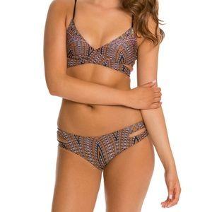 l *Space Chloe wrap bikini set in Mayan Quest